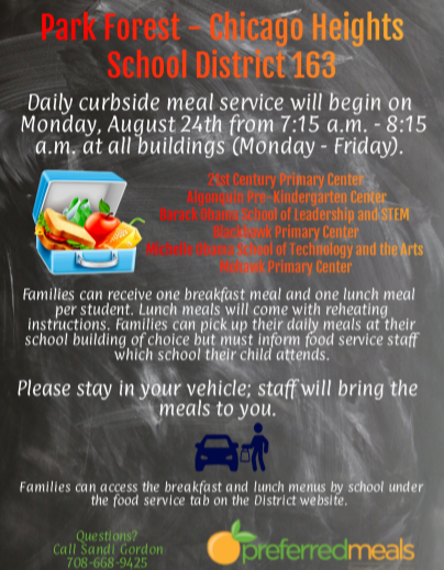 Curbside Meals 8/19/20