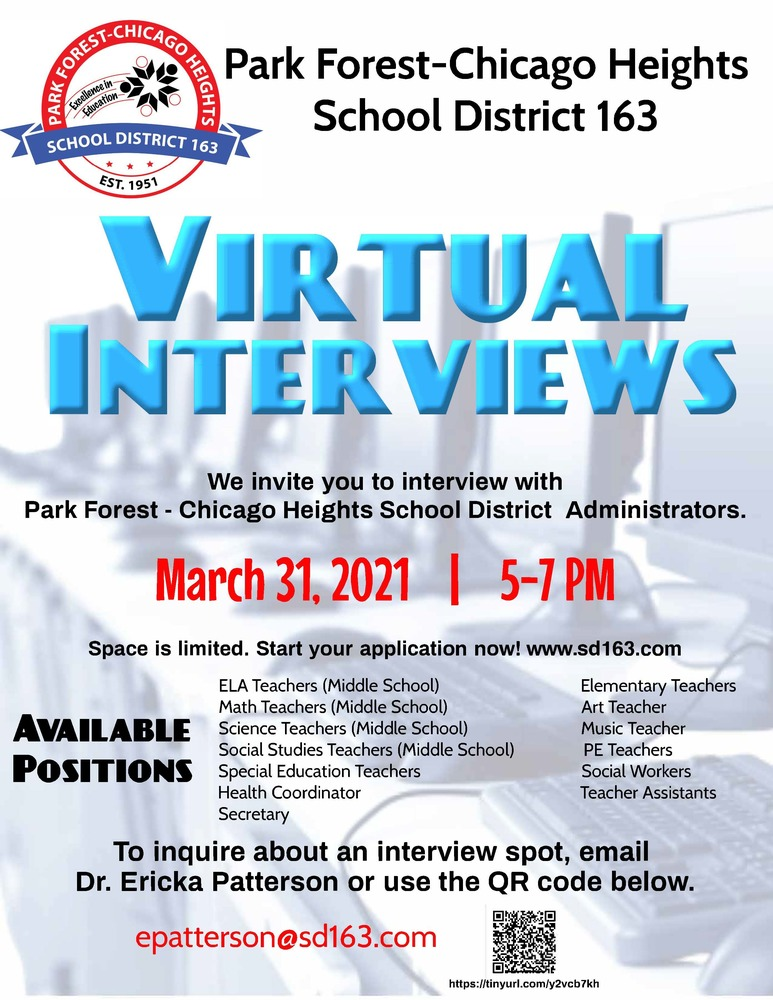 Virtual Interviews for PFCH SD163
