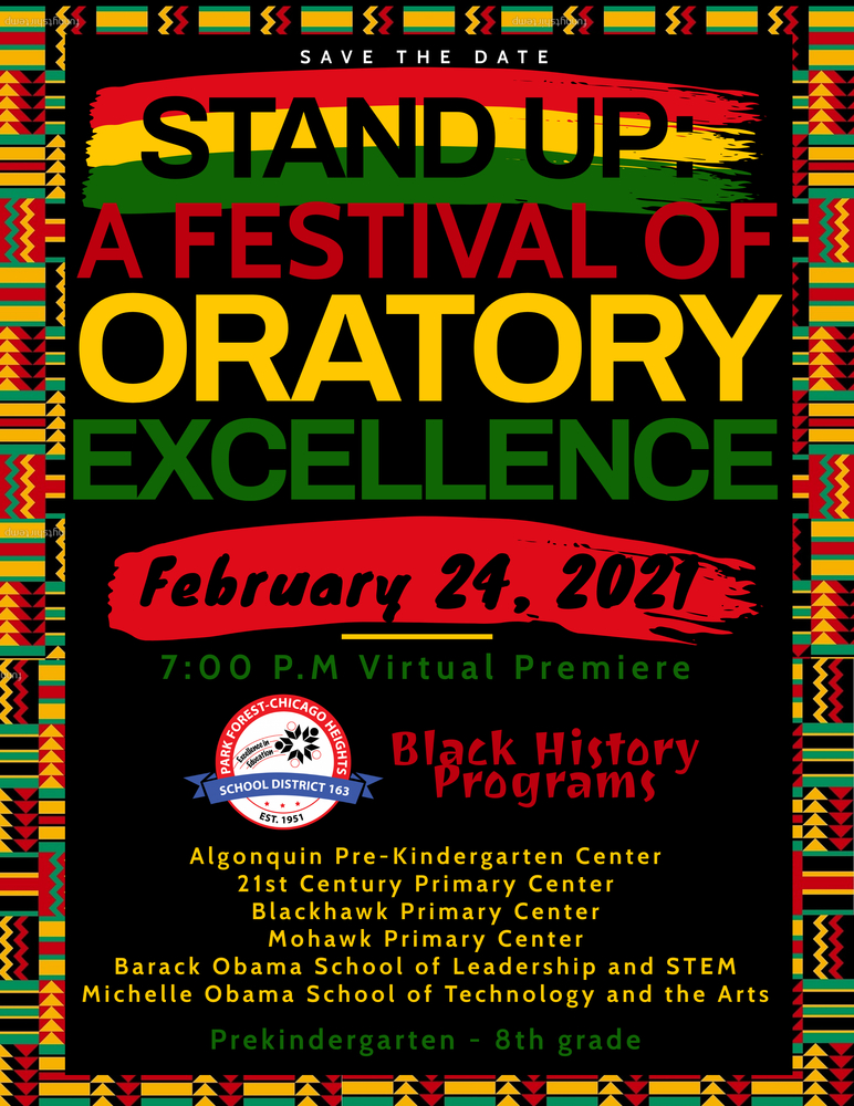 Save the Date - Black History Program