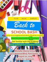 Michelle Obama Back to School Bash