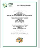 Updated Food Pantry Information