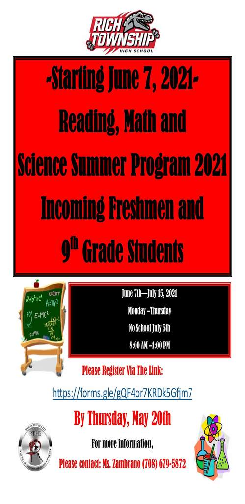 Ramp UP Program for 8th Graders