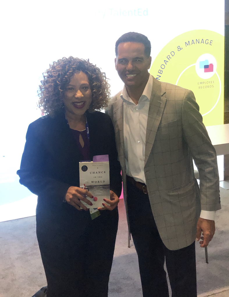 Dr. Patterson and Best Selling Author Steve Pemberton